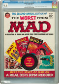 Magazines:Mad, Worst From Mad #2 (EC, 1959) CGC NM 9.4 Off-white to whitepages....