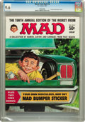 Magazines:Mad, Worst From Mad #10 (EC, 1967) CGC NM+ 9.6 White pages....