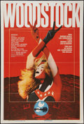 "Movie Posters:Rock and Roll, Woodstock (Warner Brothers, R-1979). Argentinean One Sheet (29"" X42.25""). Rock and Roll.. ..."