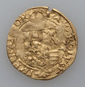 Italy, Italy: Naples. Carlo V Trio of gold Scudo d'Oro coins ND(1519-1556),... (Total: 3 coins)