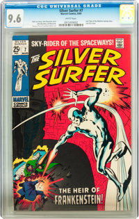 The Silver Surfer #7 (Marvel, 1969) CGC NM+ 9.6 White pages