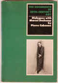 Books:Art & Architecture, Group of Three Books Relating to Art, including: Pierre Cabanne. Dialogues with Marcel Duchamp. New York: Vi... (Total: 3 Items)