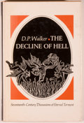 Books:Religion & Theology, Group of Four Books Relating to Religion, including: D. P. Walker. The Decline and Hell: Seventeenth-Century Discuss... (Total: 4 Items)
