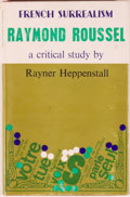 Books:Reference & Bibliography, Group of Four Non-Fiction Books, Three Relating to Raymond Roussel,including: Rayner Heppenstall. Raymond Roussel.... (Total: 4Items)