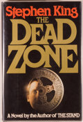 Books:Horror & Supernatural, Stephen King. SIGNED. The Dead Zone. New York: Viking,[1979]. First edition, first printing. Signed by King...