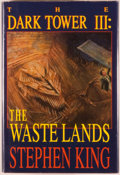 Books:Horror & Supernatural, Stephen King. SIGNED. The Dark Tower III: The Waste Lands.Hampton Falls: Grant, [1991]. First edition, first pr...