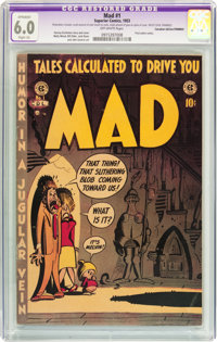 Mad #1 Canadian Edition (Superior Comics, 1953) CGC Apparent FN 6.0 Slight (A) Off-white pages