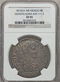 Mexico, Mexico: War of Independence 8 Reales 1815Ga-MR, ...