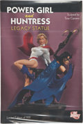 Memorabilia:Superhero, Power Girl and the Huntress Legacy Statue Limited Edition #0115/1100 (DC Direct, 2007)....