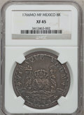 Mexico, Mexico: Carlos III Pillar Dollar of 8 Reales 1766-MF, ...