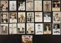 Autographs:Photos, Baseball Greats Vintage Photograph Lot Of 22....