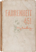 Books:Science Fiction & Fantasy, Ray Bradbury. Fahrenheit 451. New York: Ballantine Books,[1953]. First edition. Number 33 of 200 limited edition co...
