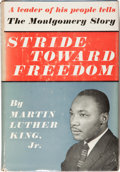 Books:Americana & American History, Martin Luther King, Jr. Stride Toward Freedom. TheMontgomery Story. New York: Harper & Brothers, Publishers,19...