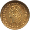 Colombia, Colombia: Republic Peso 1872, ...