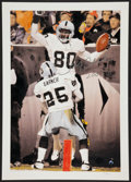 """Football Collectibles:Others, Jerry Rice """"200 T.D."""" Signed Lithograph. ..."""
