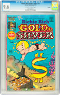 Bronze Age (1970-1979):Cartoon Character, Richie Rich Gold and Silver #1 File Copy (Harvey, 1975) CGC NM+ 9.6Off-white to white pages....