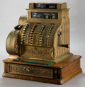 Other:American, A GILT BRONZE NATIONAL CASH REGISTER . 1913. Marks: THE NATIONALCASH REGISTER CO., DAYTON, OHIO, U.S.A., 1223023, 442, NA...