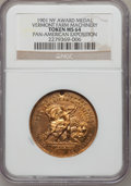 Expositions and Fairs, 1901 Pan-American Exposition, Vermont Farm Machinery MS64 NGC. Buffalo, New York....