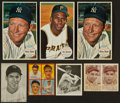 Baseball Cards:Lots, 1910's-1960's Baseball Card Collection (59) With Over 20 MantleCards....