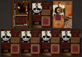 Football Cards:Lots, 2004 Jim Thorpe Limited Edition Jacket Swatch Card Collection (7). ...