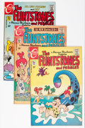 Bronze Age (1970-1979):Cartoon Character, The Flintstones Group (Charlton, 1970-76) Condition: Average VF....(Total: 20 Comic Books)