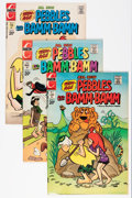 Bronze Age (1970-1979):Cartoon Character, Pebbles & Bamm Bamm Group (Charlton, 1972-76) Condition: Average VF+.... (Total: 22 Comic Books)