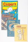 Bronze Age (1970-1979):Cartoon Character, Casper the Friendly Ghost American Dental Association GiveawaysGroup (Harvey, 1972-81) Condition: Average VF/NM.... (Total: 10Items)