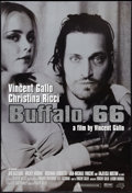 """Movie Posters:Comedy, Buffalo 66 (Lions Gate, 1998). Special Silver Glitter One Sheet (27.25"""" X 40""""). Comedy.. ..."""