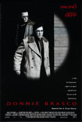 "Movie Posters:Crime, Donnie Brasco (Tri-Star, 1997). One Sheet (26.75"" X 39.75""). DS.Crime.. ..."