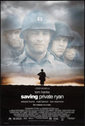 "Movie Posters:War, Saving Private Ryan (Paramount, 1998). One Sheet (27"" X 40""). DS.War.. ..."