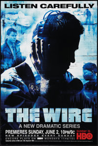 "The Wire (HBO Films, 2002). One Sheet (27"" X 40""). Crime"