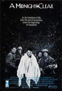 "A Midnight Clear (Interstar, 1992). One Sheet (27"" X 39.5""). War"