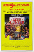 "Movie Posters:Drama, The Deer Hunter (Universal, 1978). One Sheet (27"" X 41""). Academy Awards Style. Drama.. ..."