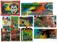 Batman Toy Gun Group (1966-88).... (Total: 10 Items)