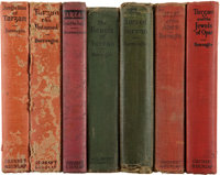 Edgar Rice Burroughs Tarzan Novels (Grosset & Dunlap/A. L. Burt, 1918-43).... (Total: 7 Items)