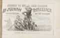 Books:Americana & American History, [California Gold Rush]. J. A. & D. F. Read, illustrators.Journey to the Gold Diggins by Jeremiah Saddlebags. NewYo...