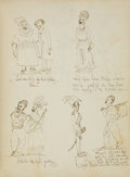 Books:Americana & American History, [Anonymous]. Extraordinary New England Album of Original Prose,Poetry, and Sketches, Circa 1826-1830. Approximately 105 pag...