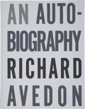 Books:Art & Architecture, Richard Avedon. An Autobiography. [New York: Random House,1993]. First edition, one of 250 numbered copies (this be...(Total: 2 Items)