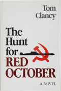 Books:Fiction, Tom Clancy. The Hunt for Red October. Annapolis: NavalInstitute Press, [1984]. First edition, first printing, in th...