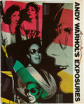 Books:Photography, Andy Warhol and Bob Colacello. Andy Warhol's Exposures. NewYork: Andy Warhol Books/Grosset & Dunlap, 1979. Firs...