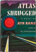 Books:Literature 1900-up, Ayn Rand. Atlas Shrugged. New York: Random House, [1957].First edition. Octavo. [viii], [1,174] pages. Publisher's ...