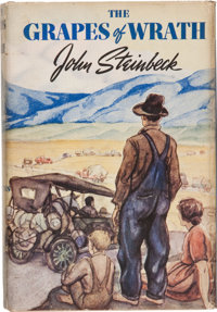 John Steinbeck. The Grapes of Wrath. New York: Viking, [1939]. First edition, first printing. O