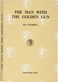 Books:Mystery & Detective Fiction, Ian Fleming. The Man With the Golden Gun. London: JonathanCape, [1965]. Uncorrected proof of the first edition....
