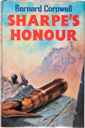 Books:Fiction, Bernard Cornwell. SIGNED. Sharpe's Honour. London: Collins,1985. First edition. Signed by Cornwell on the title...
