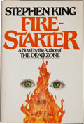 Books:Horror & Supernatural, Stephen King. Firestarter. New York: The Viking Press,[1980]. First trade edition. Inscribed and signed by th...