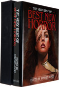 Books:Horror & Supernatural, Stephen Jones, editor. The Very Best of Best New Horror.With an Introduction by Ramsey Campbell. [Northborough,...
