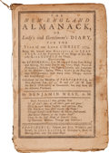 Books:Americana & American History, Benjamin West. The New-England Almanack, or Lady's andGentleman's Diary, for the Year of our Lord Christ 1774...Pr...