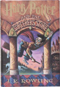 Books:Children's Books, J. K. Rowling. Harry Potter and the Sorcerer's Stone. NewYork: Scholastic, [1998]. First American edition, first pr...