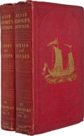 Books:Travels & Voyages, Captain Rodney Mundy. Narrative of Events in Borneo and Celebes, Down to the Occupation of Labuan: from the Journals of ... (Total: 2 Items)