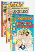 Bronze Age (1970-1979):Cartoon Character, Richie Rich and His Girlfriends #1-16 File Copy Group (Harvey,1979-82) Condition: Average NM-.... (Total: 48 Comic Books)